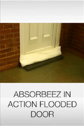 ABSORBEEZ IN ACTION FLOODED DOOR